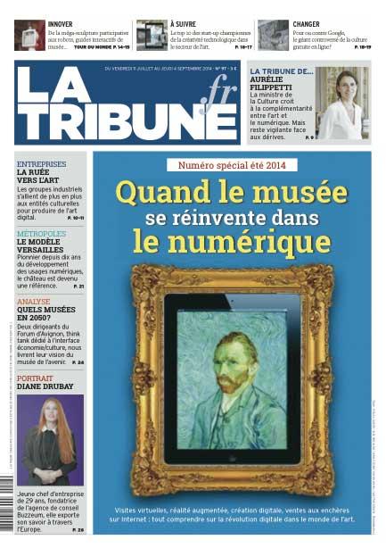 Couverture La Tribune - Spécial été 2014