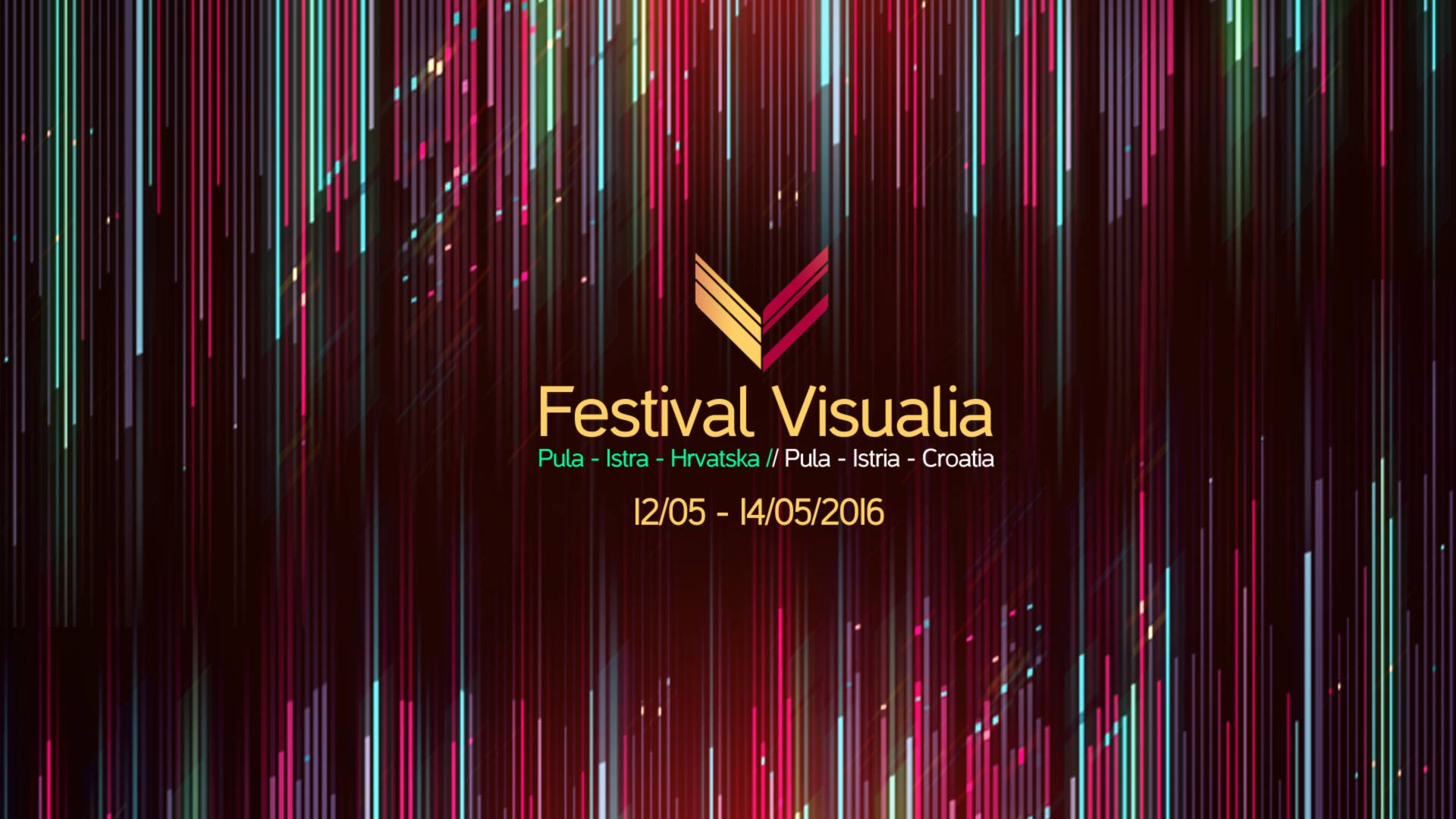 Waterlight graffiti est exposé au festival Visualia en Croatie du 12 au 14 mai 2016